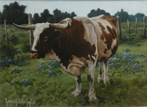 Rick Patterson, Texas Longhorn and Bluebonnets